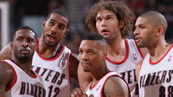 Blazers up 3-1 with OT win over Rockets
