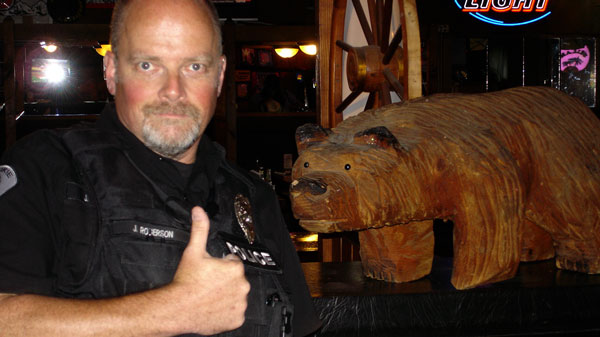 Cop-and-bear