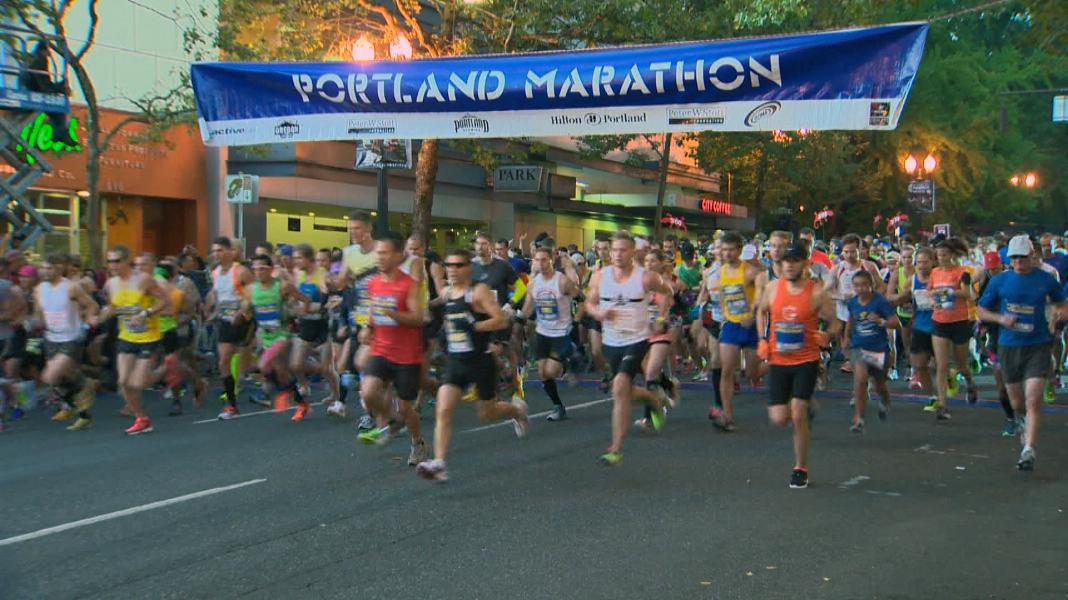 Runners prep for Sunday's Portland Marartion