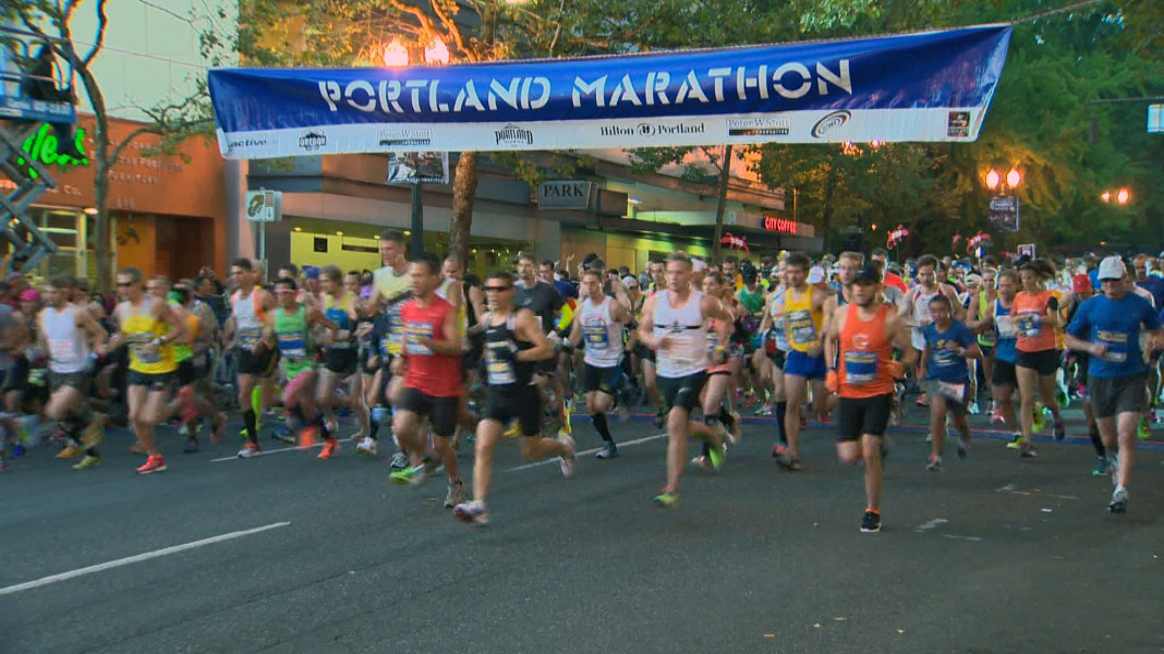 Runners prep for Sunday's Portland Marartion