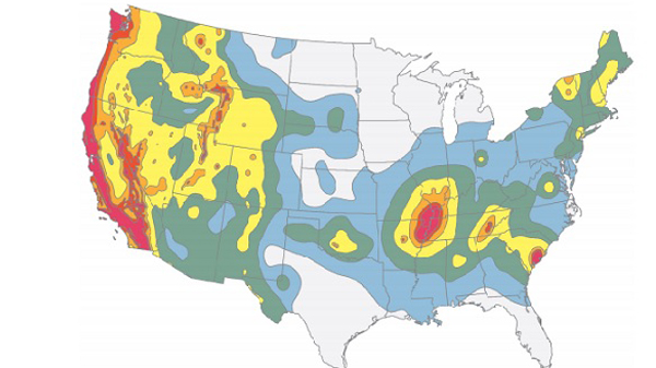 Earthquake Map Shows Ore NW At High Risk