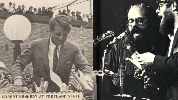 Photos: Historical figures speak at PSU