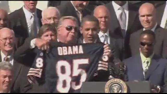 '85 Bears shuffle on down to White House