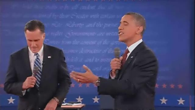 Obama, Romney face off in feisty 2nd debate