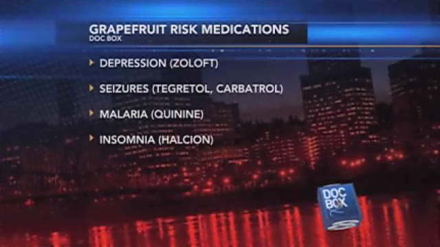 Doc Box: Morning Sickness and Grapefruit Warnings