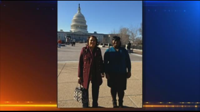 Parkrose Sr. recounts inauguration trip