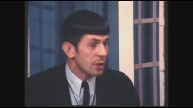 In June of 1967, Leonard Nimoy came to the KGW studios to film an interview about his new NBC show called Star Trek.