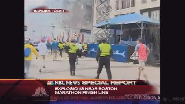 NBC coverage of Boston Marathon explosions