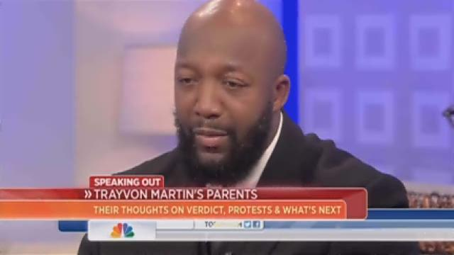Trayvon Martin's parents speak out on Today