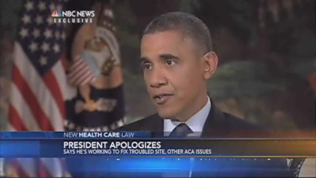 Obama apologizes to people who lost health insurance