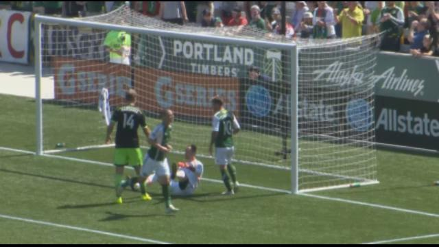 Video highlights of Timbers Sounders match.