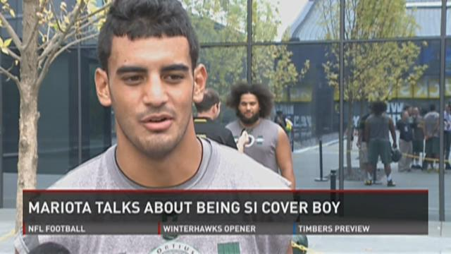 Marcus Mariota talks about SI cover