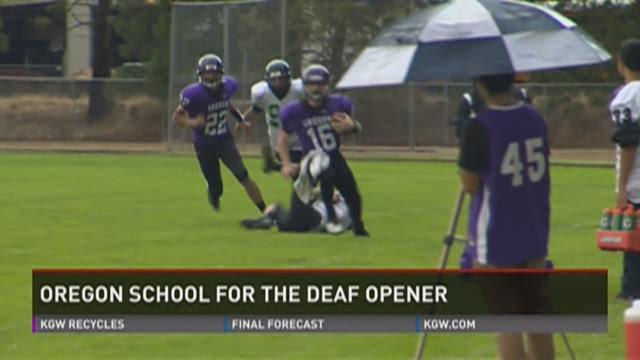 Washington School For The Deaf Football Washington Oregon Deaf School