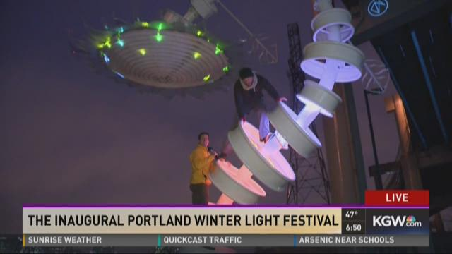 The inaugural Portland Winter Light...
