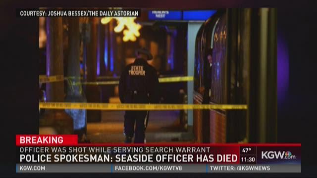 Officer killed in Seaside shooting