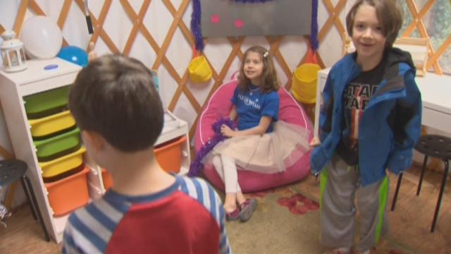 Make-A-Wish art studio for Portland girl