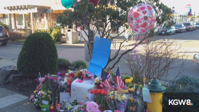 Vigil for slain Seaside Sgt Jason Goodding