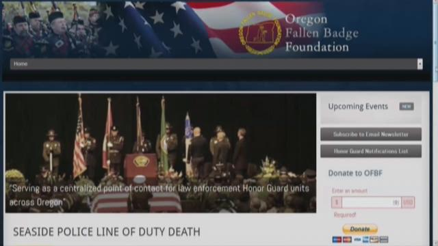 Oregon Fallen Badge Foundation helps family