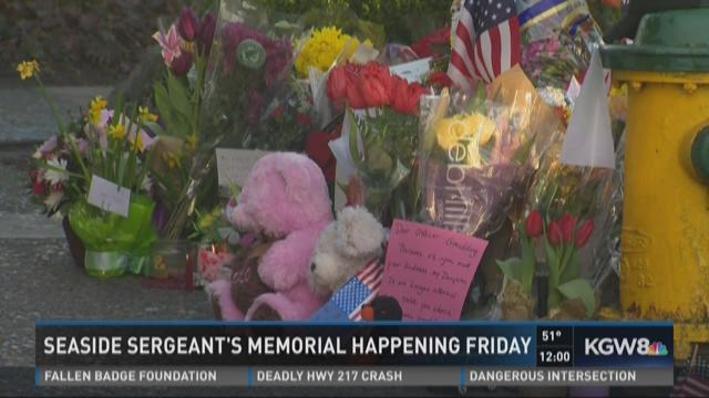 Seaside sergeant's memorial  happening Friday