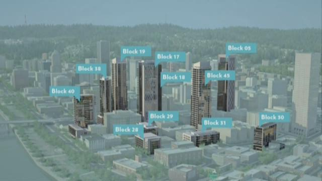 Plans for 11 new downtown Portland buildings