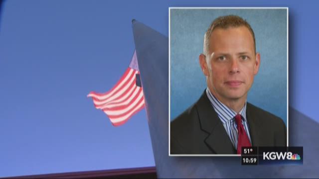 Hometown remembers fallen police sergeant