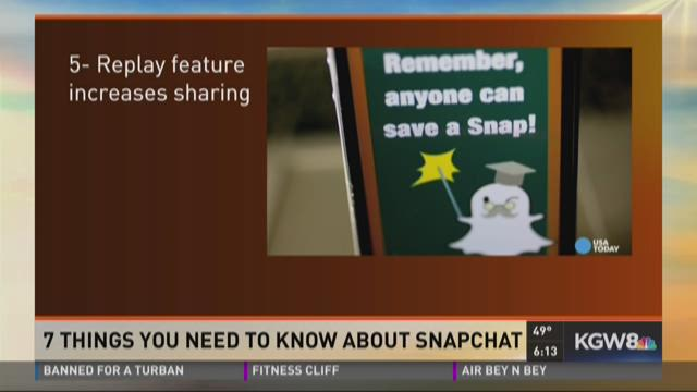 7 things you need to know about Snapchat