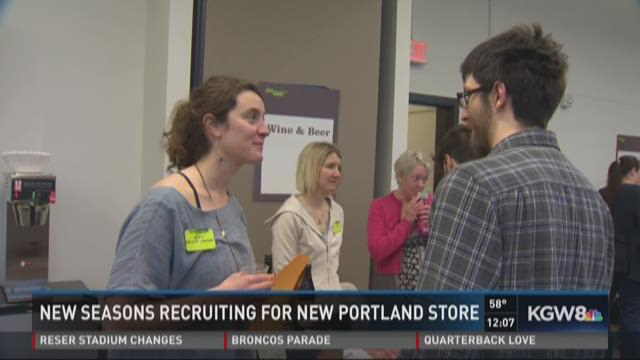 New Seasons recruiting for new Portland store