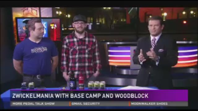 Zwickelmania talk with Base Camp Brewing and Woodblock Chocolate