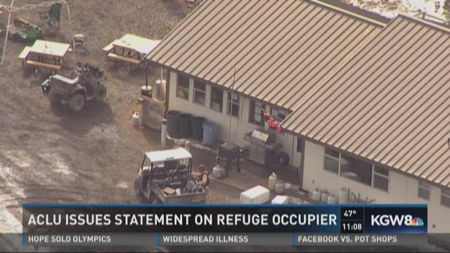 ACLU issues statement on refuge occupier