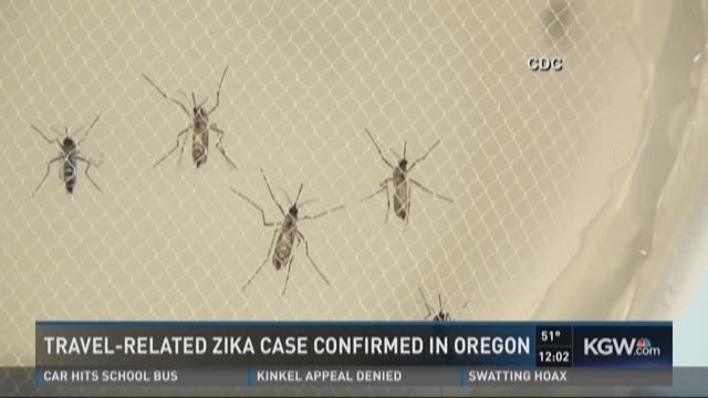 Travel-related Zika case confirmed in Oregon