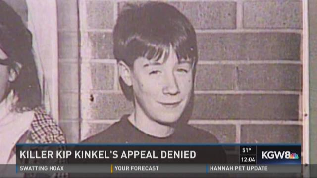 Killer Kip Kinkel's appeal denied