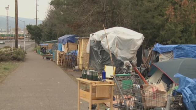 Homeless camps looking for more city land