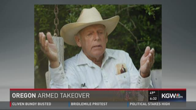 Cliven Bundy arrested in Portland