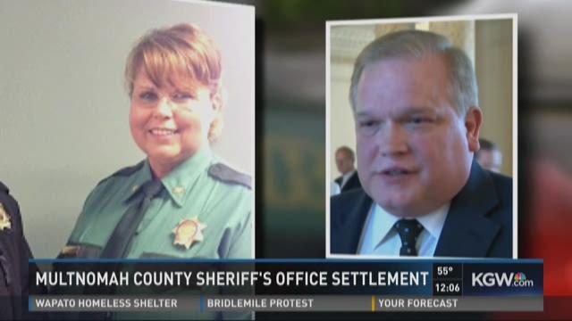 Multnomah County sheriff's office settlement