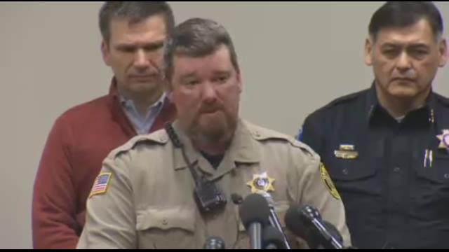 Harney County Sheriff Dave Ward speaks after occupation ends