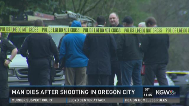 Man dies after shooting in Oregon City