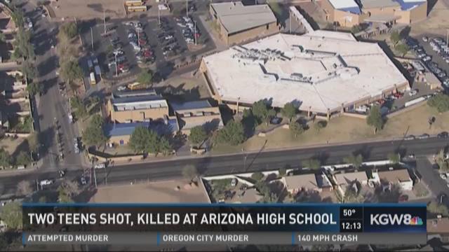 Two teens shot, killed at Arizona high school