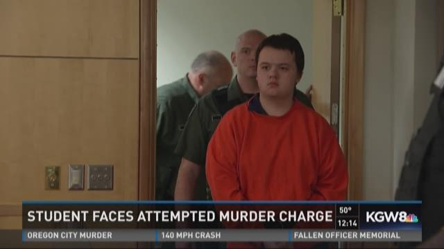 Student faces attempted murder charge