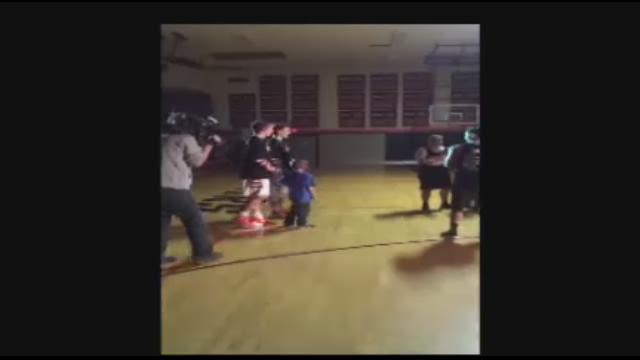 Watch: Boy's Make-A-Wish granted at Beaverton HS basketball game