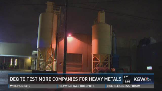 DEQ to test more companies for heavy metals