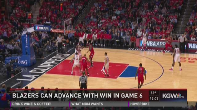 Blazers can advance with win in game 6