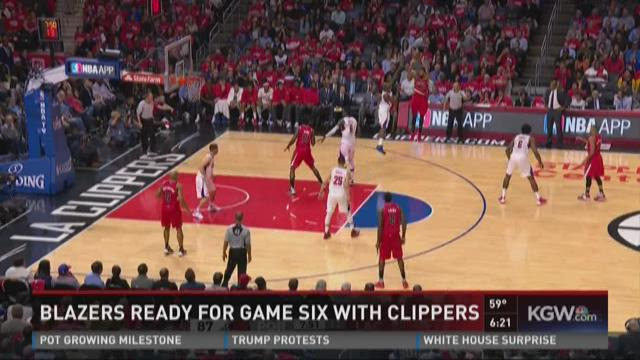 Blazers ready for Game 6 vs. Clippers