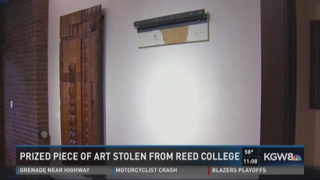 Prized piece of art stolen from Reed College