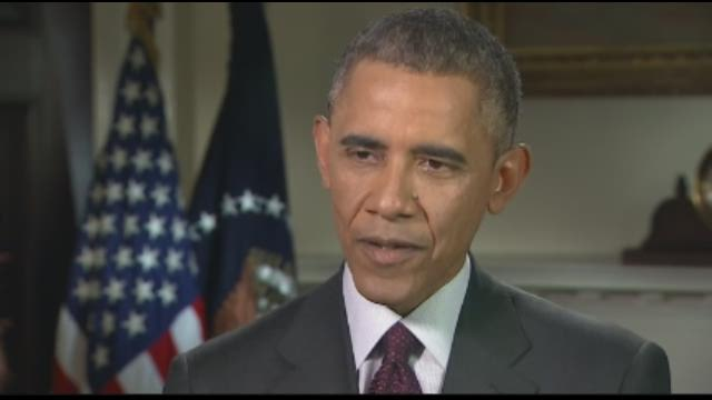 "President Barack Obama participates in a ""Live from"