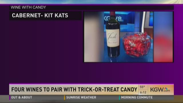 Pairing Wine with Halloween candy on KGW Portland Today - Vindulge