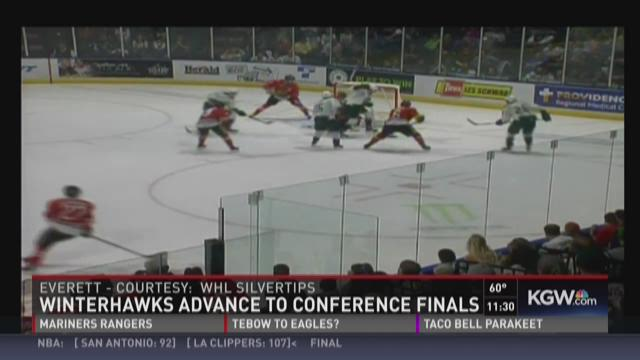 Winterhawks win Rd. 2 with 3-2 victory over Everett