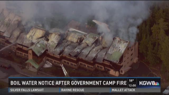 Hot spots remain in Government Camp condo fire