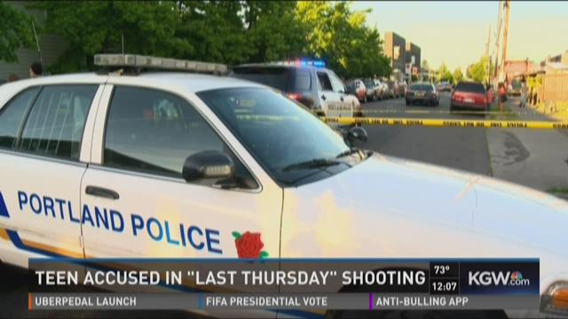Last Thursday shooting scene, Northeast Alberta Street,