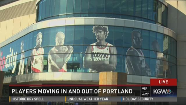 Lots of Blazers roster turnover