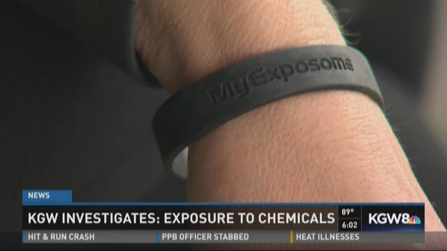 KGW reporter Keely Chalmers tests bracelet